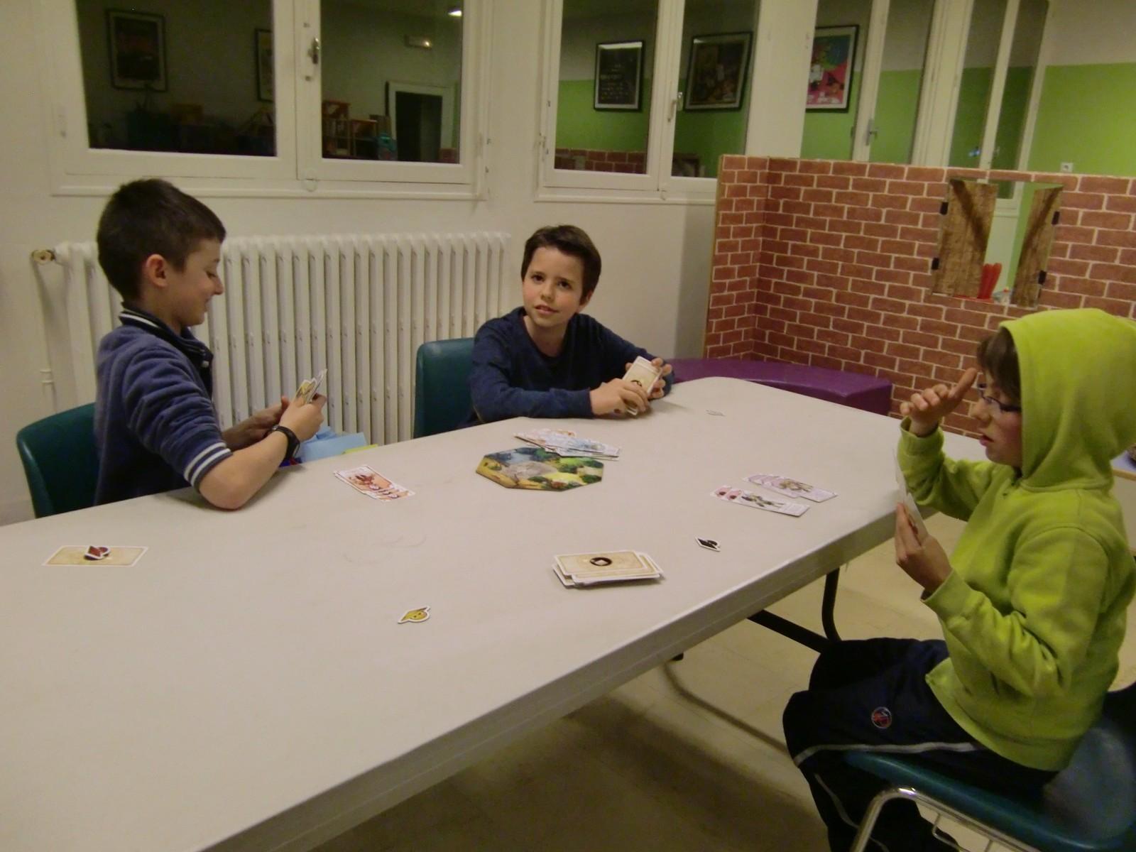 """3ème ronde : la table """"Dragon"""" (T2)"""