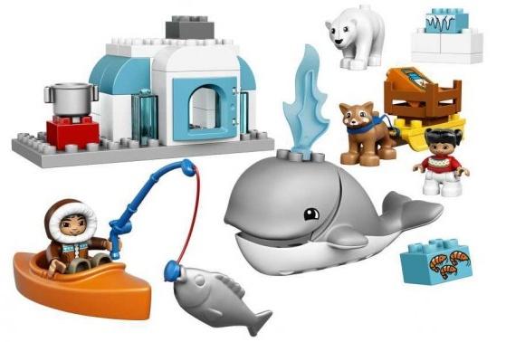 Lego Duplo - Les animaux de l'arctique