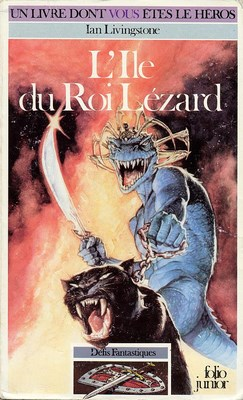 Livre dont vous êtes le héros : L'île du Roi Lézard