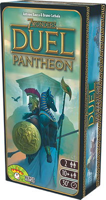 7 Wonders Duel - Pantheon (extension)