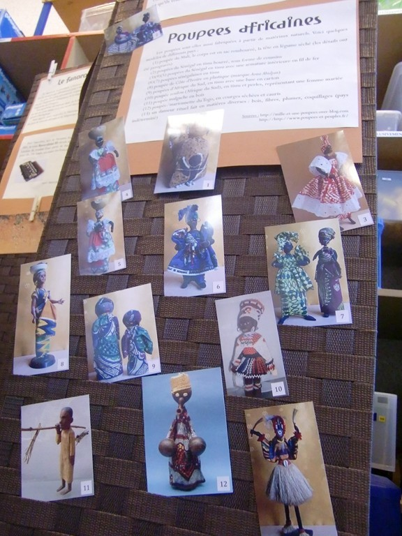 poupées africaines