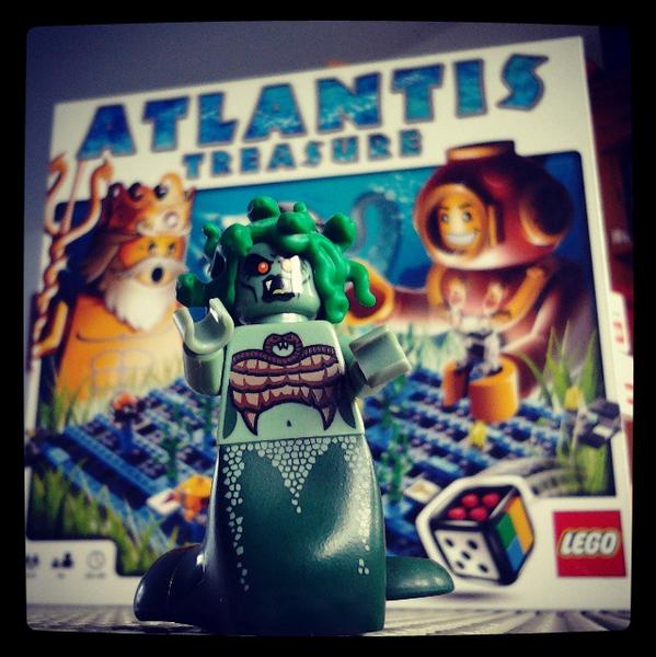 Atlantis Treasure, jeu de société LEGO