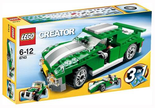 Lego Creator - Le bolide vert