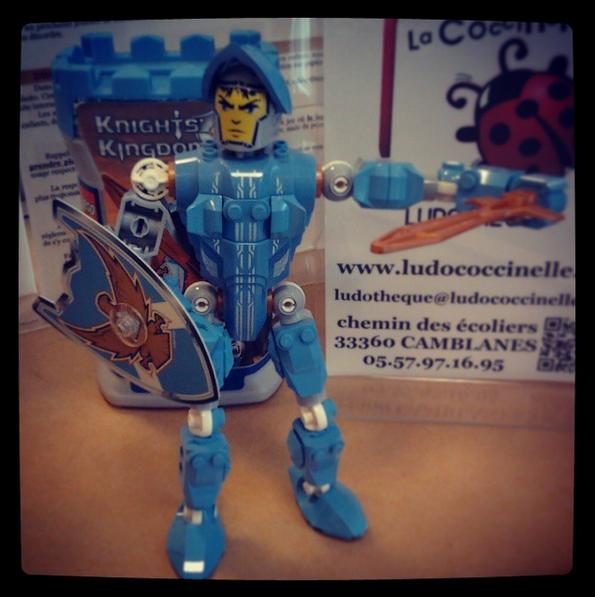 chevalier de la gamme Knight's Kingdom