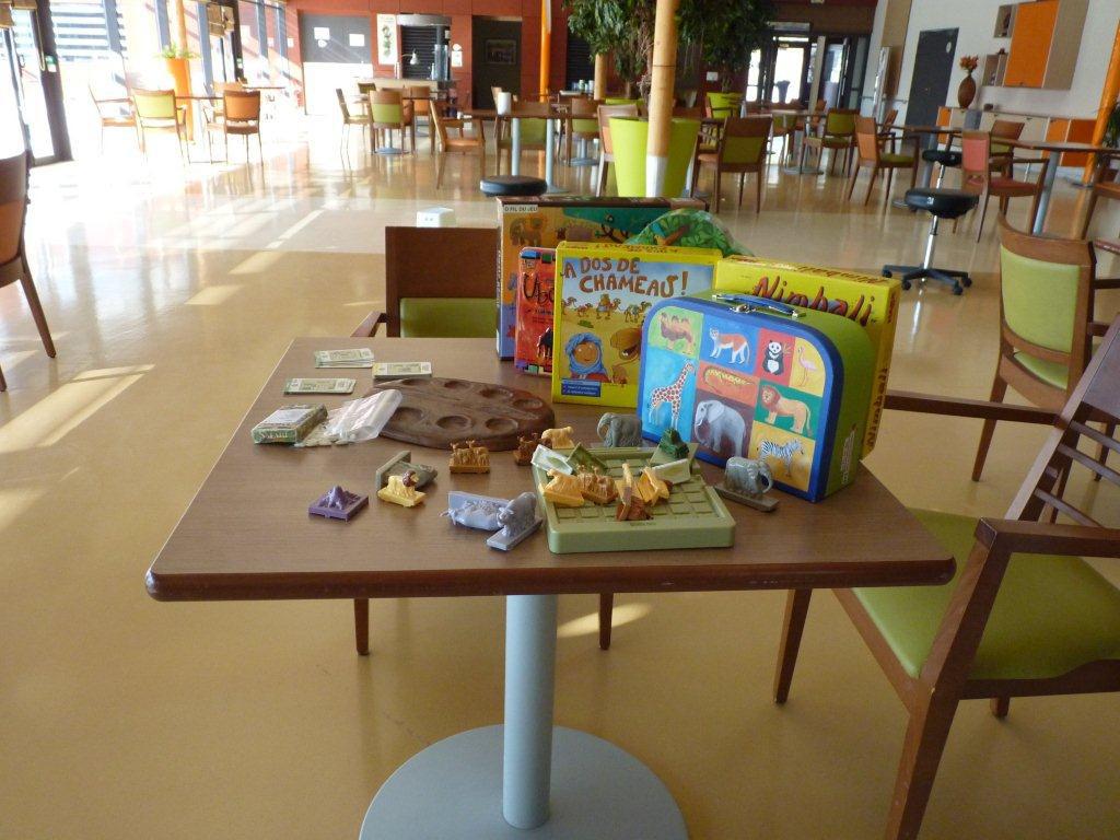 [Handivillage] quelques-uns des jeux en exposition, entre jeux traditionnels et jeux sur le thème de l'Afrique