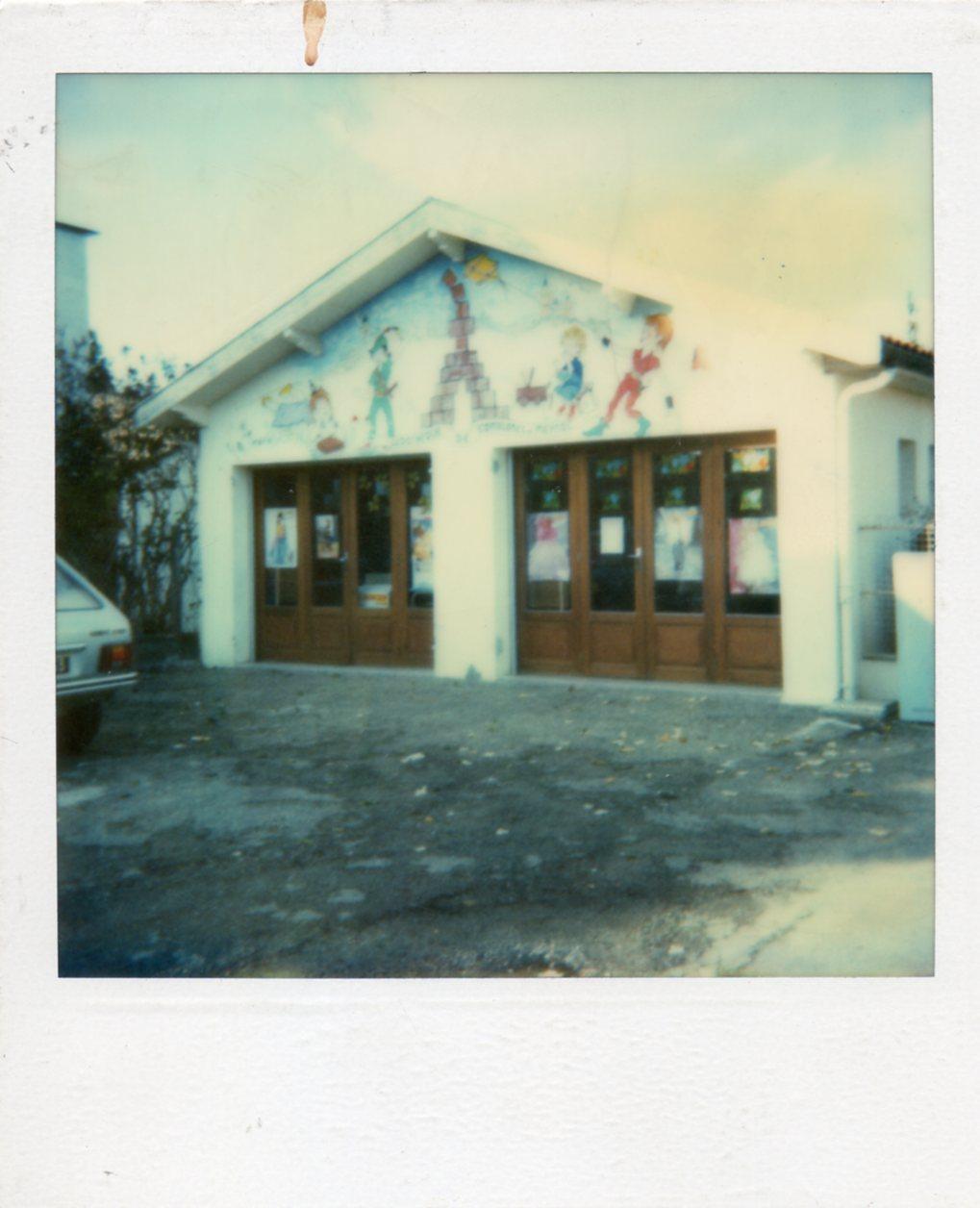 les premiers locaux de la ludothèque (extérieur)