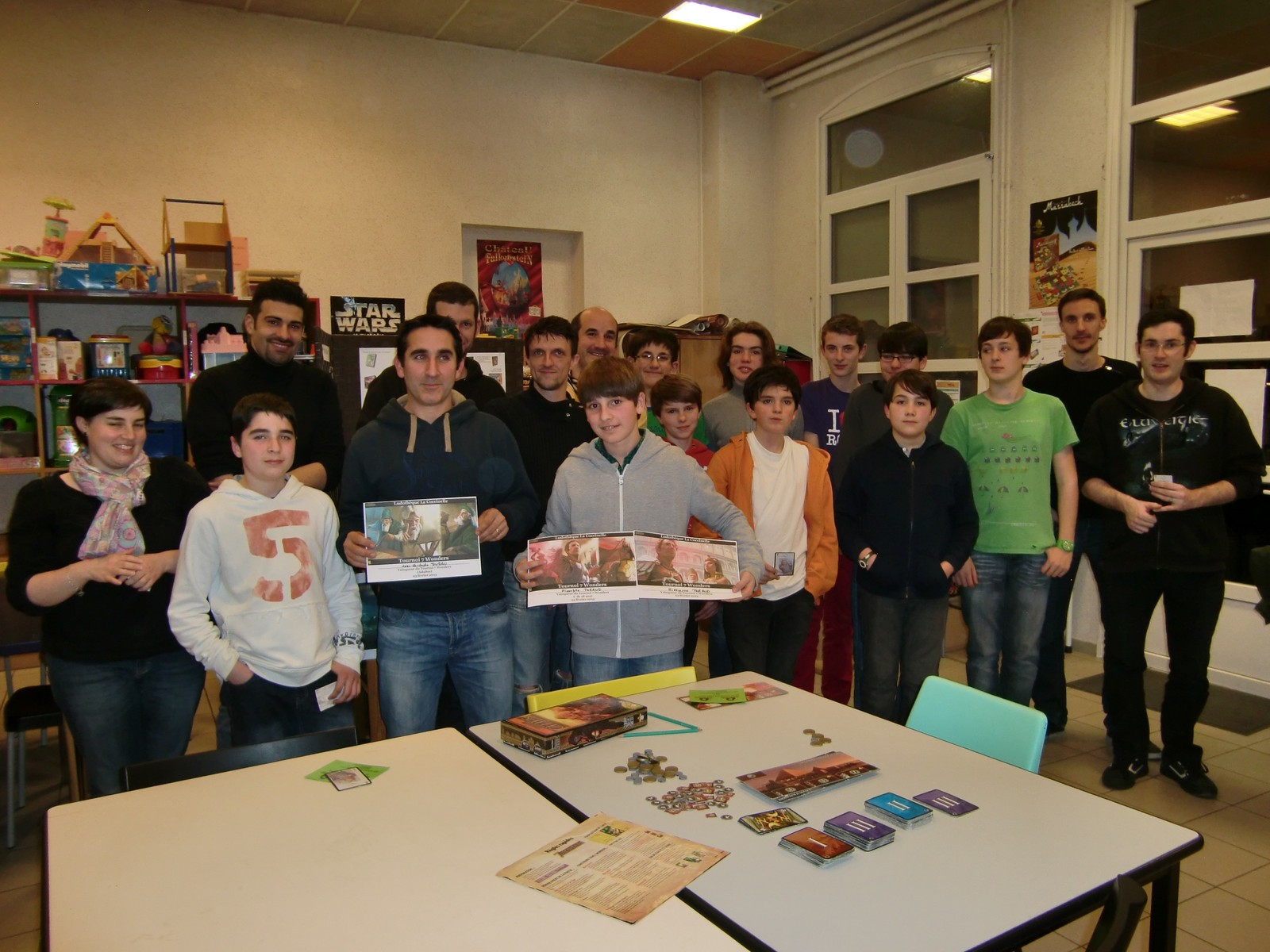 "un tournoi ""7 wonders"""
