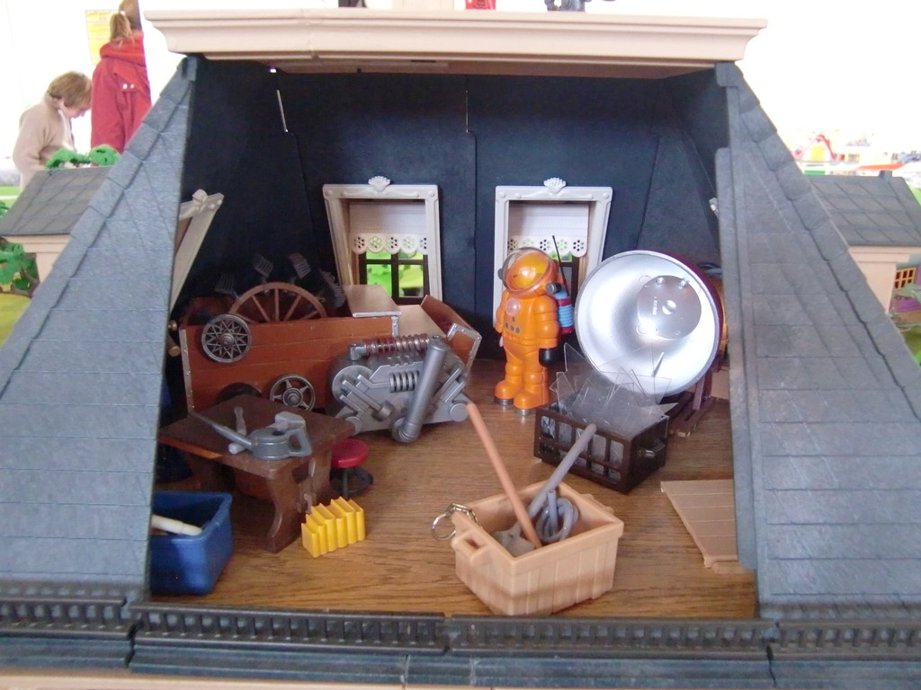 des objets des différents albums de Tintin