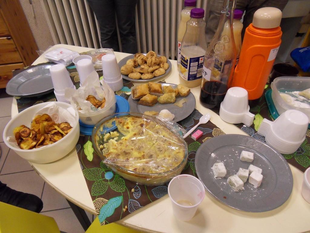 la table des gourmands