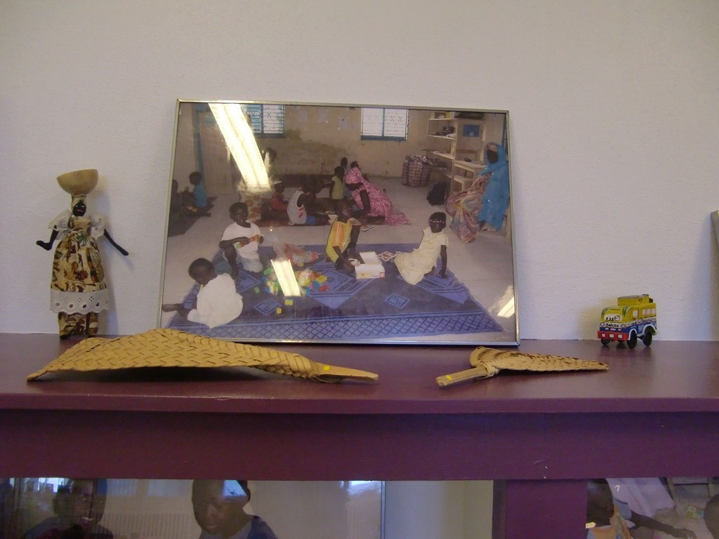 exposition photos de la ludothèque du Sénégal (prêtée par la ludothèque Interlude)