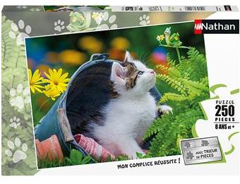 Puzzle : Les chatons curieux