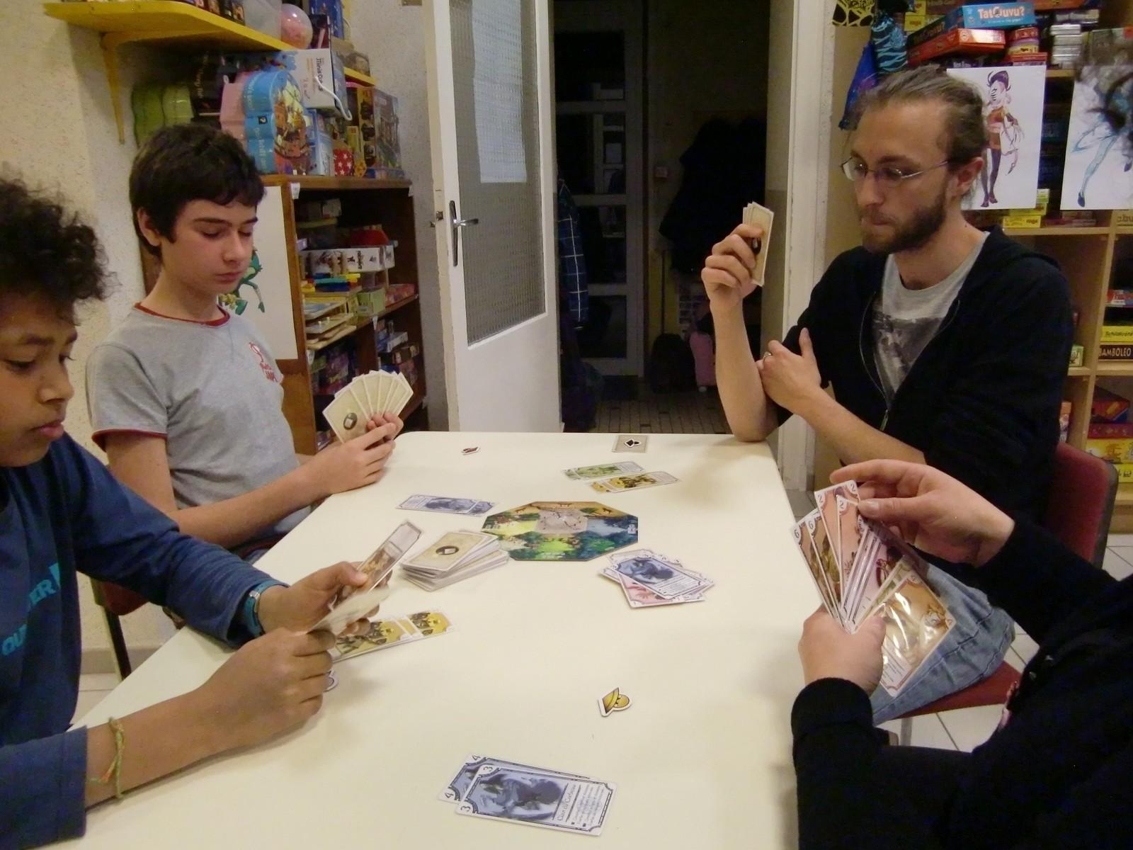 "3ème ronde : la table ""Kappa"" (T3)"
