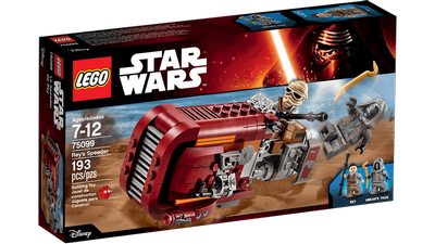 Lego Star Wars : Rey's speeder