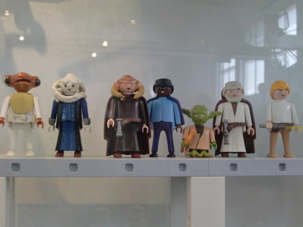 des personnages de l'univers Star Wars