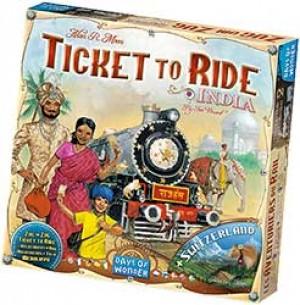 Les aventuriers du rail : Inde & Suisse (ext)