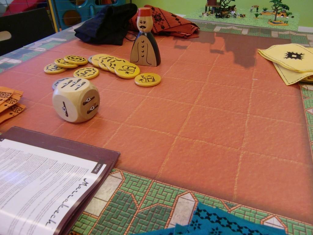 Marrakech (As d'Or/Jeu de l'année 2008), un jeu sur les souks marocains de Dominique Erhardh