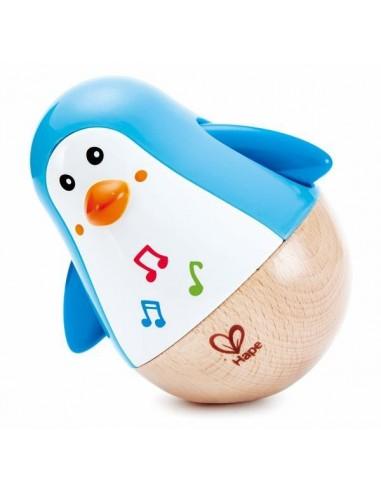 Pingouin musical culbuto