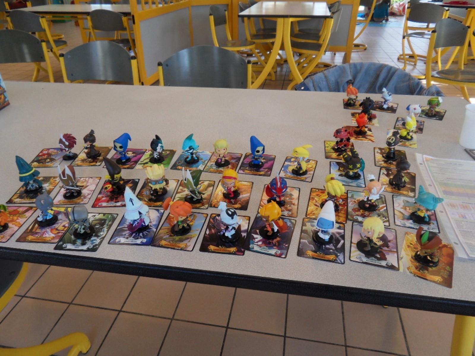 les figurines Krosmaster en présentation