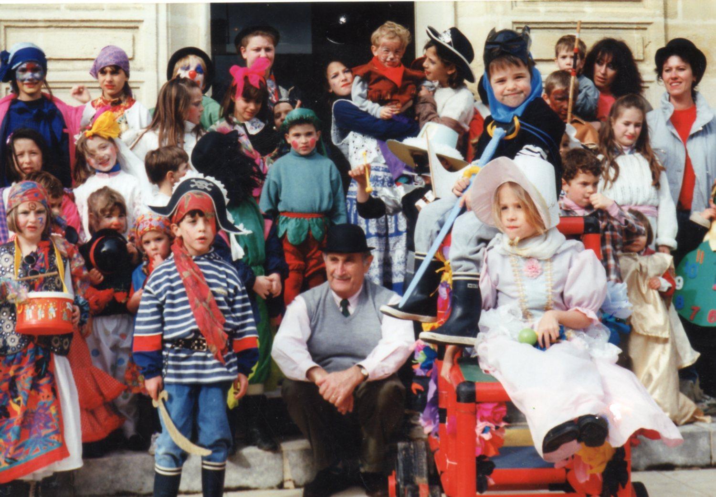 carnaval avec M.Trupin