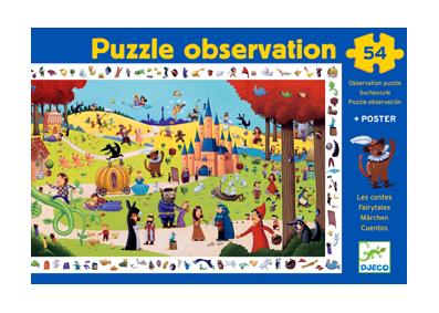 """Puzzle Observation """"Les contes"""""""