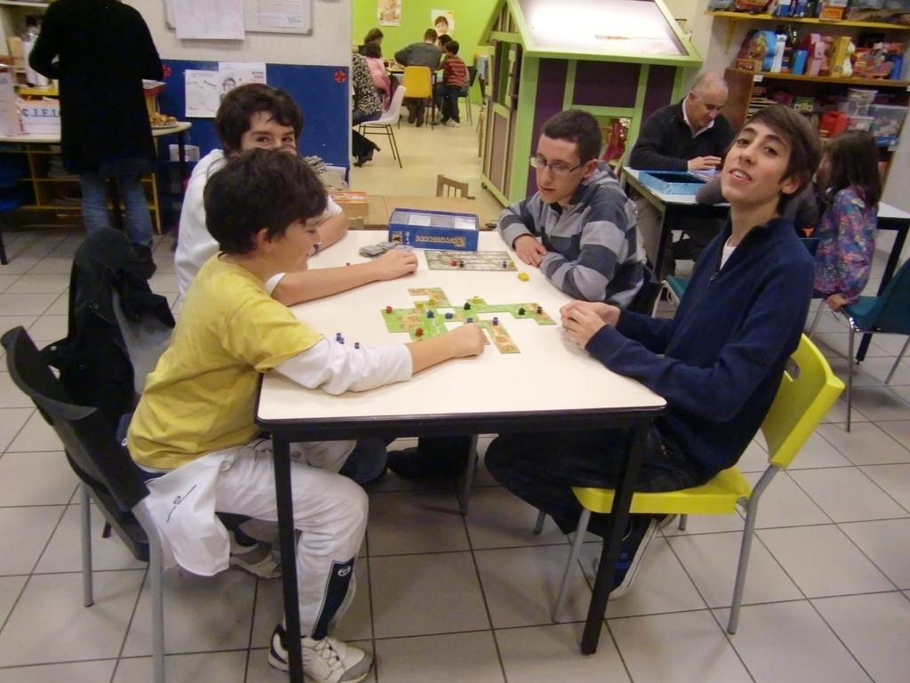 du Carcassonne à (presque) toutes les tables