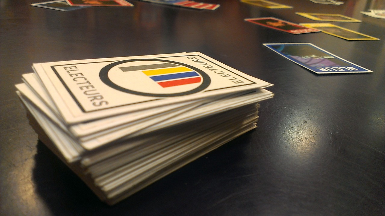 R, des cartes électeurs