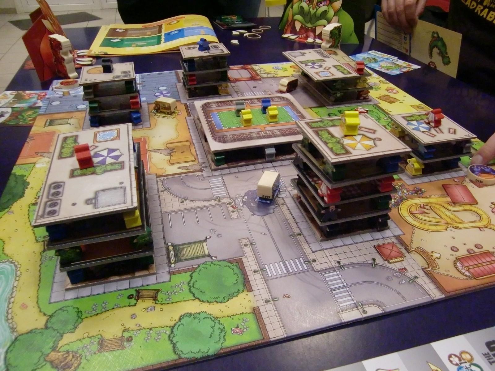 Rampage : la jolie ville de Meeple City