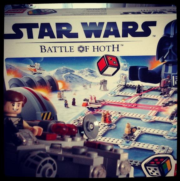 Star Wars : Battle of Hoth, jeu de société LEGO