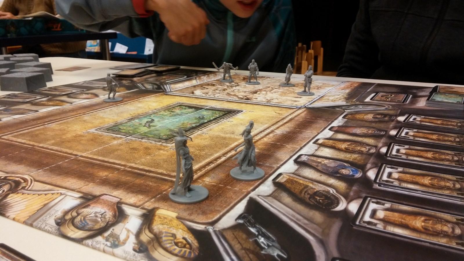 les momies défendent leur tombeau (The Adventurers 2)