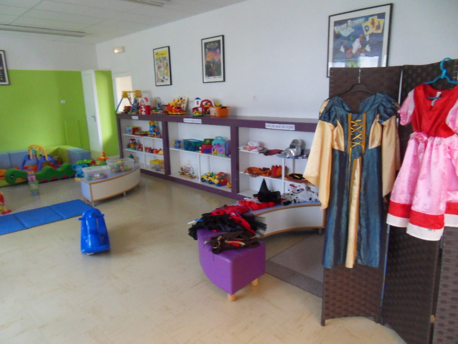 une petite boutique d'habits
