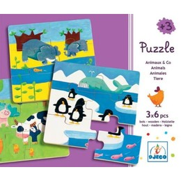 """Puzzle """"Animaux & co."""""""