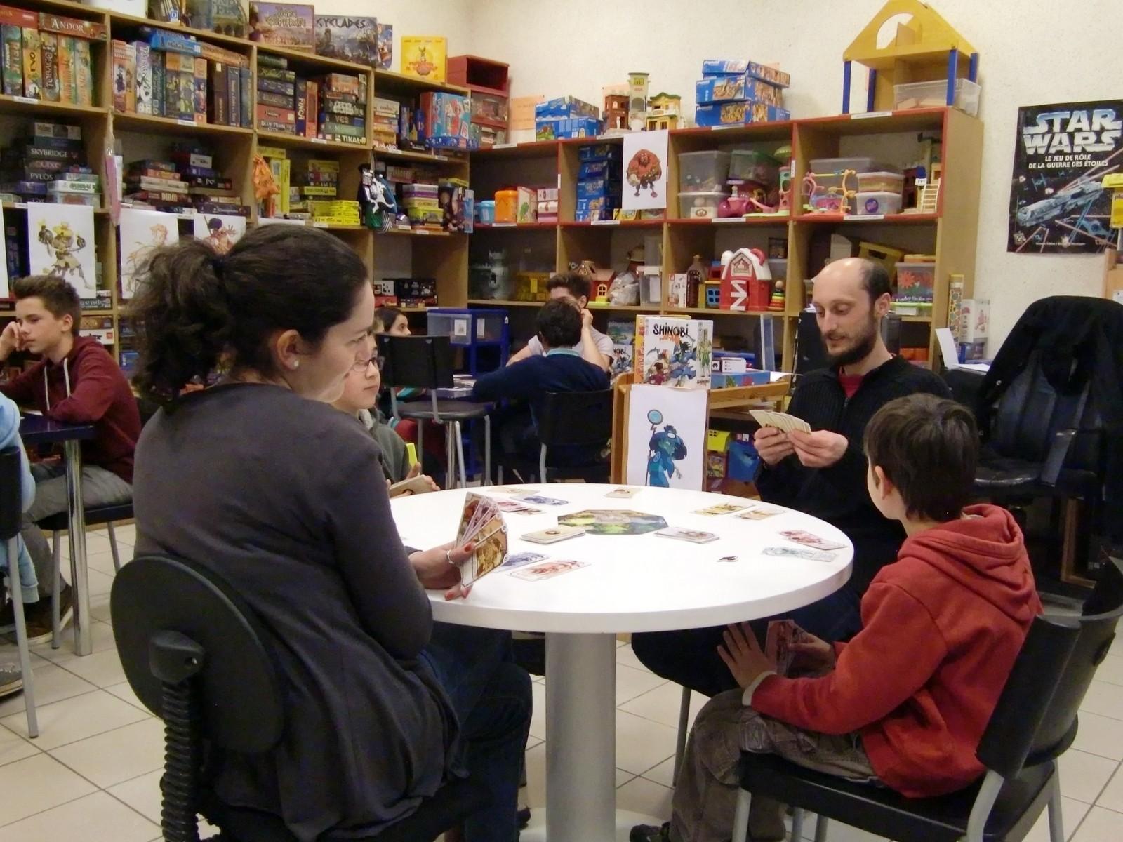 """3ème ronde : la table """"Vieil ermite"""" (T4)"""