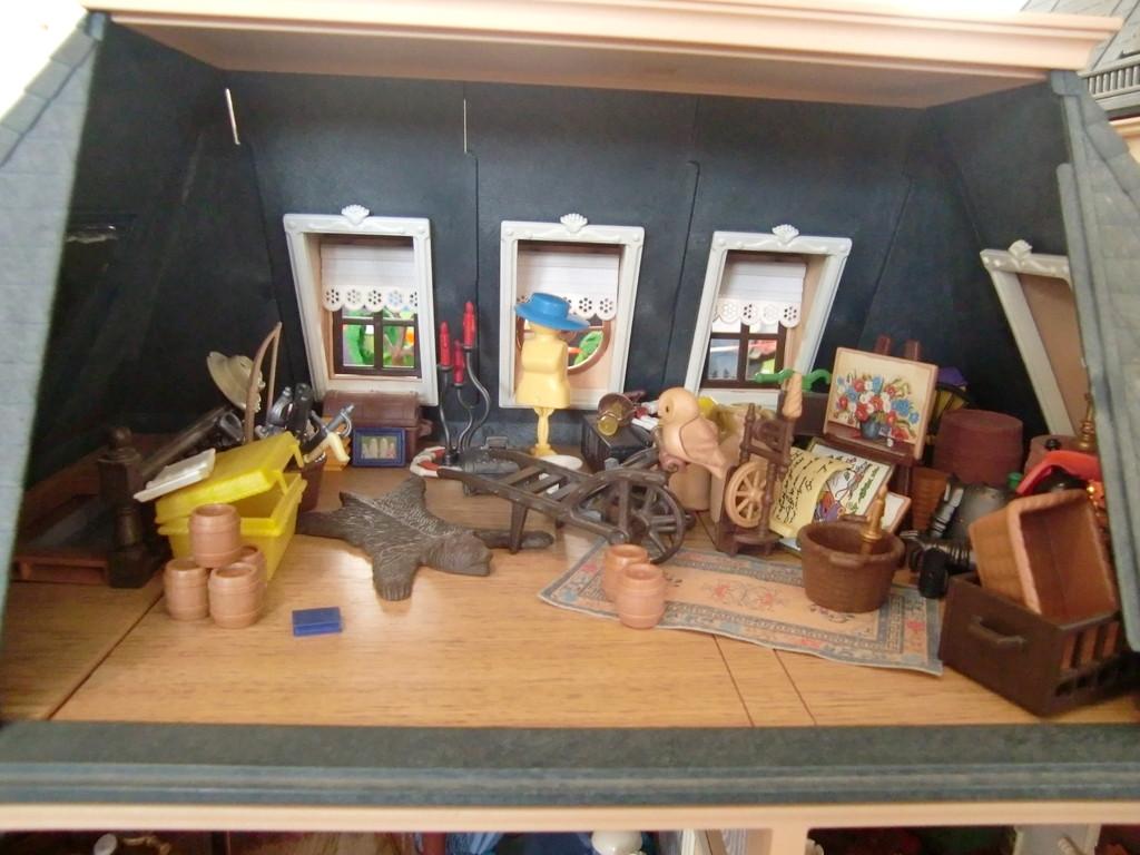 l'intérieur du château de Moulinsart (Tintin)