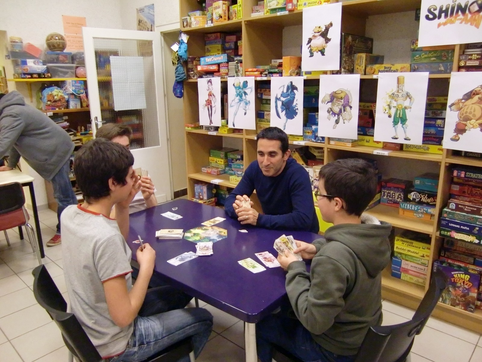 """1ère ronde : la table """"Saitenza"""" (T5)"""