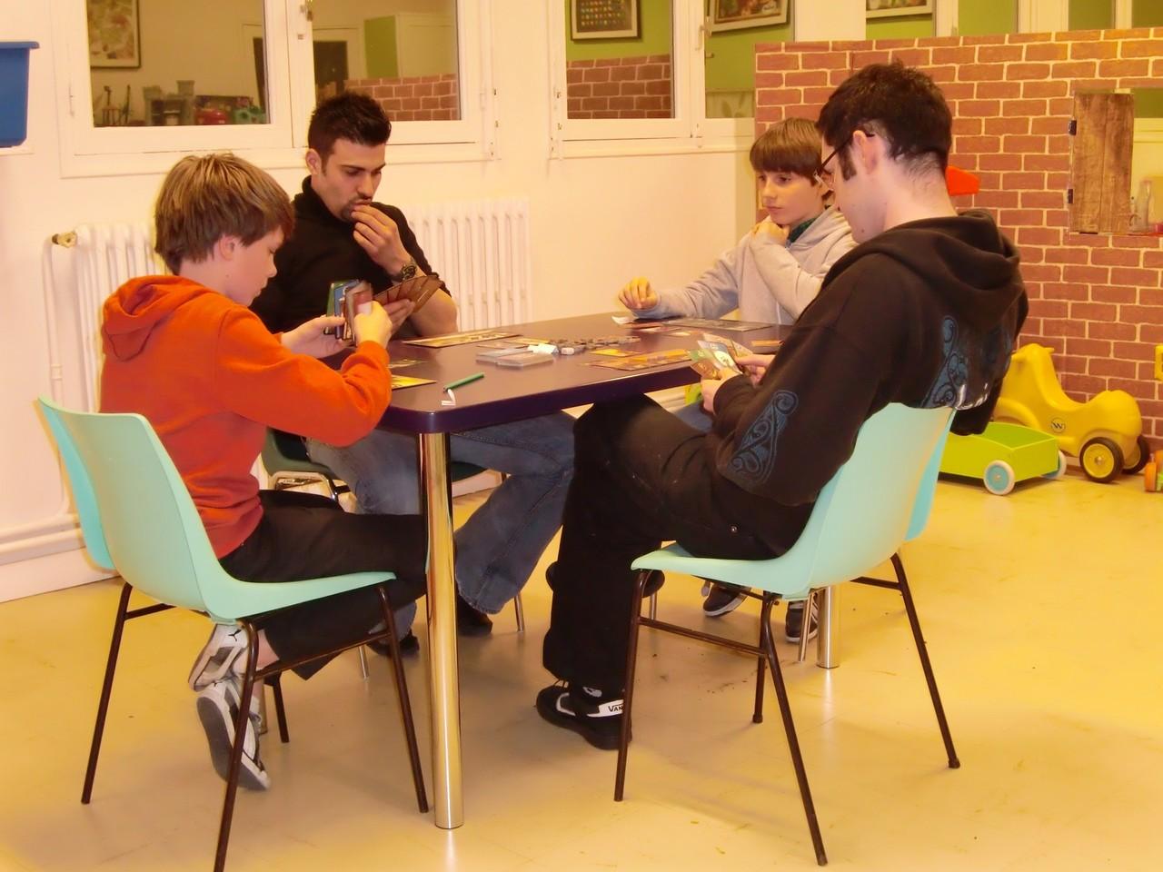 2ère ronde, table Babylone : Pierre, Jérémie, Hippolyte et Julien