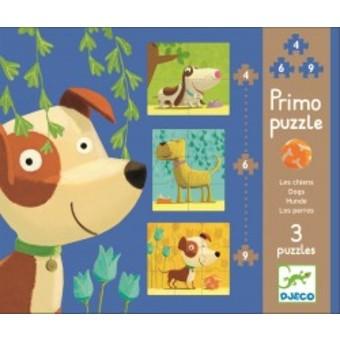 """Primo Puzzle """"Les chiens"""""""