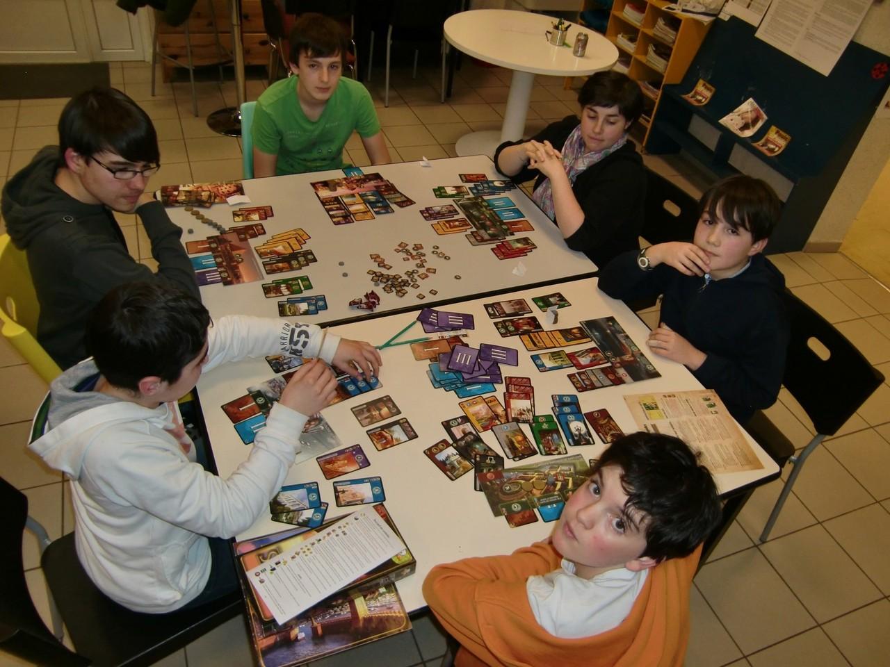 fin de partie sur la table Alexandrie