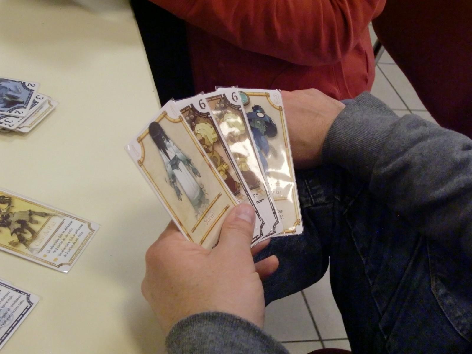 peu de cartes, mais ça peut faire mal !