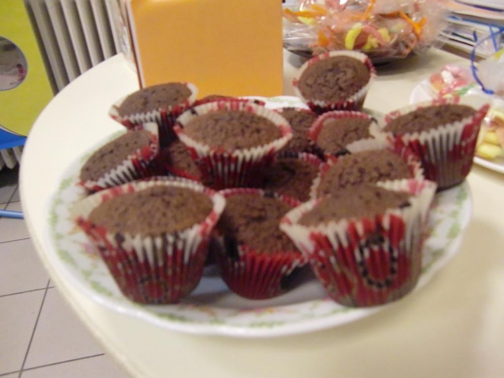 encore des muffins (oui, non seulement on aide C.I.E.LO, mais en plus c'est bon et appétissant)
