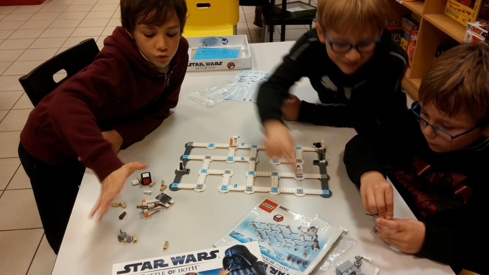 Star Wars Lego : la bataille de Hoth