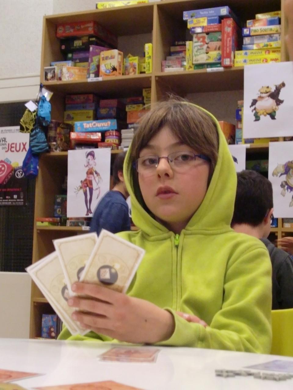 les finalistes : Gabriel, 8 ans et encore d'attaque pour lafinale