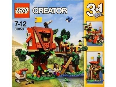 Lego Creator : la cabane dans les arbres