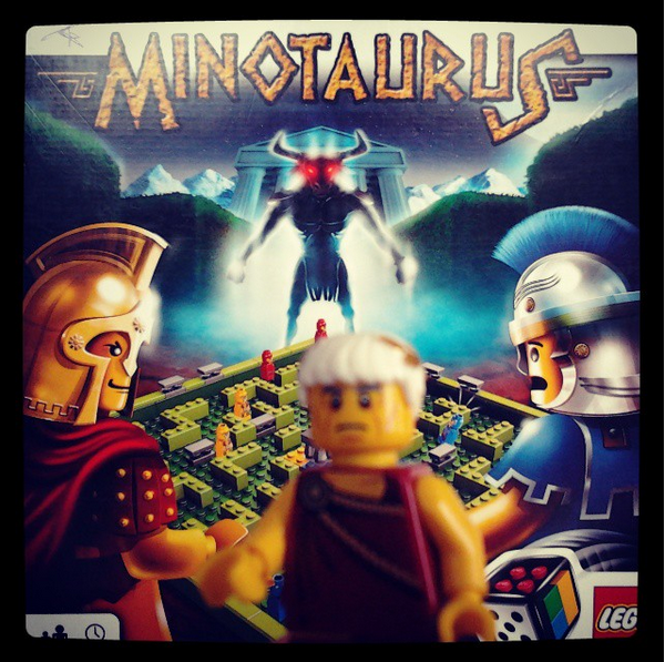 Minotaurus, jeu de société LEGO