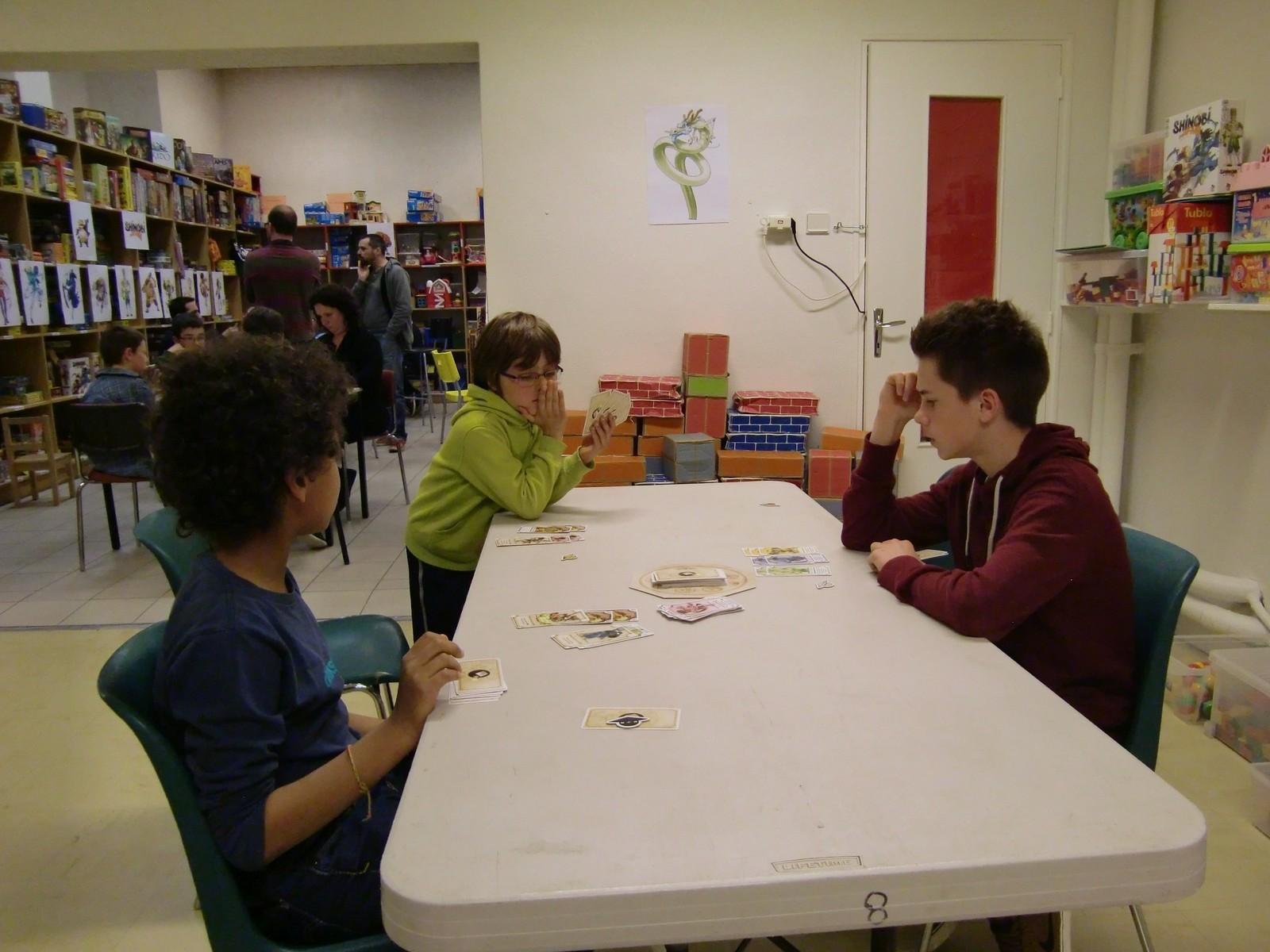 """2ème ronde : la table """"Dragon"""" (T2)"""