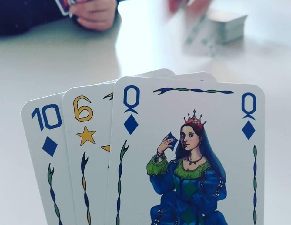 Five Kings, une variante du Rami