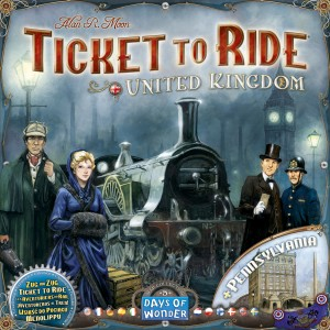 Les aventuriers du rail : United Kingdom (extension)