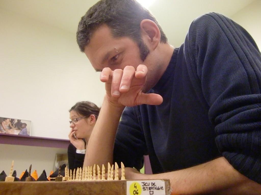 le fanorona est un jeu qui demande de la réflexion