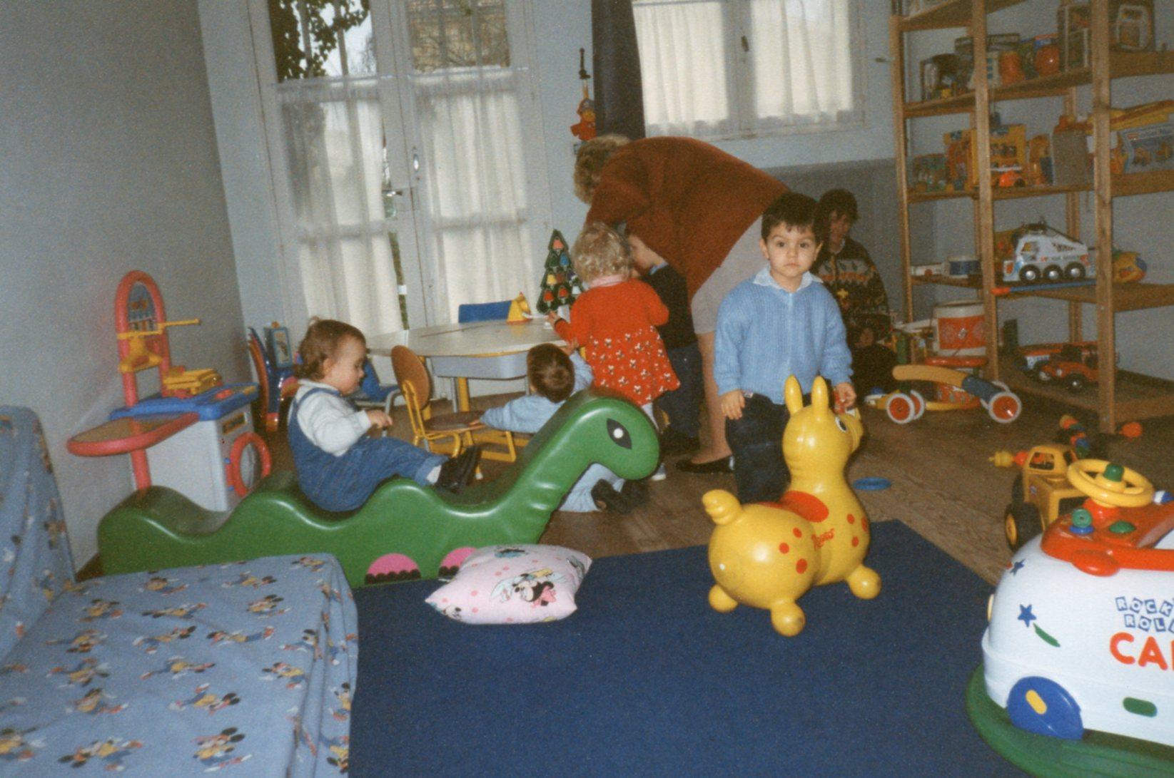 un espace petite enfance dans d'anciens locaux