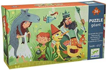 Puzzle géant : la parade des contes