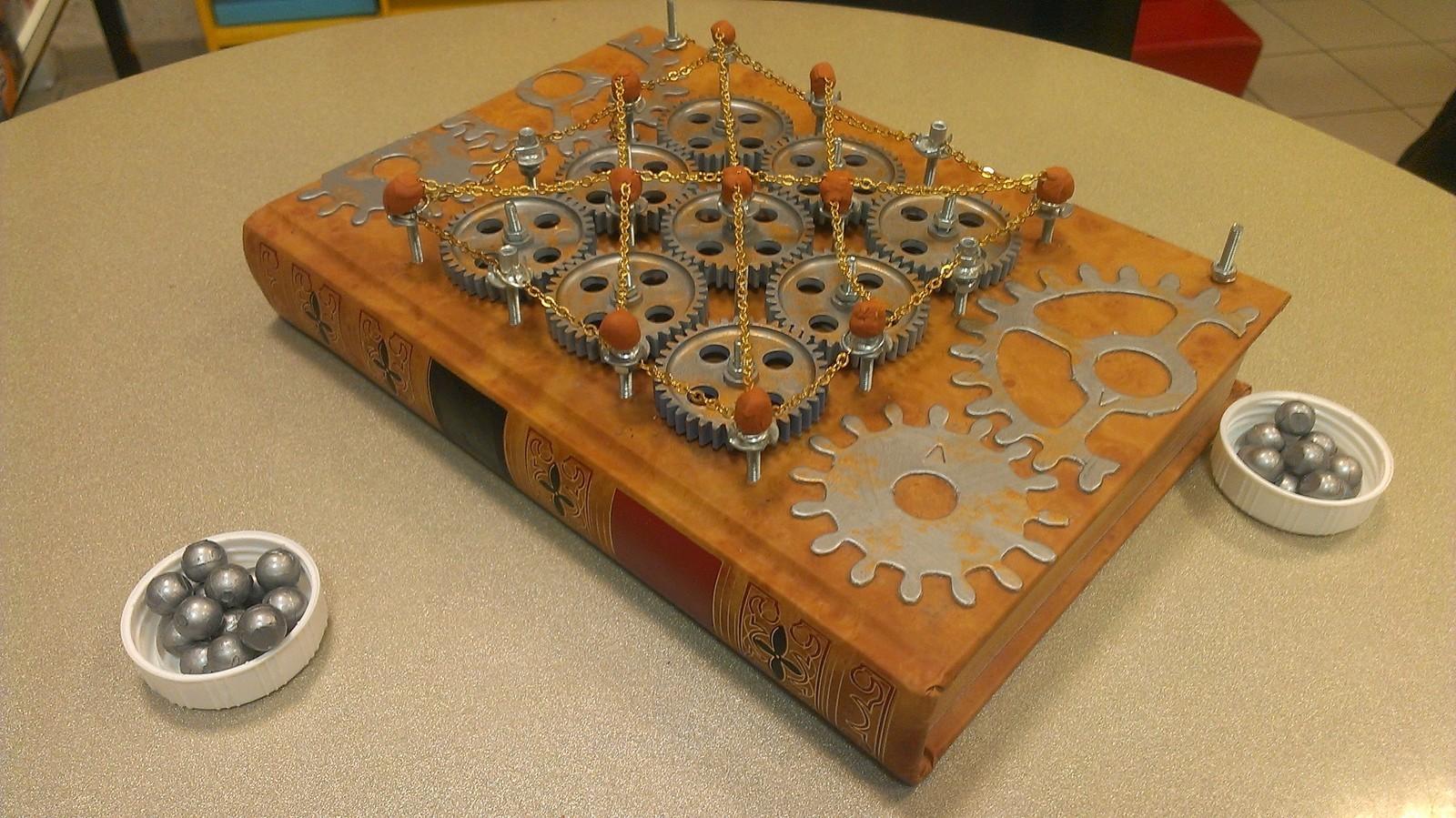 Chaînes & Engrenages, l'un des prototypes de Léandre